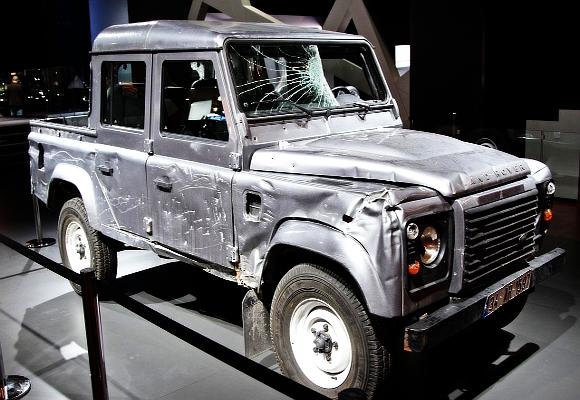 Land Rover de Skyfall