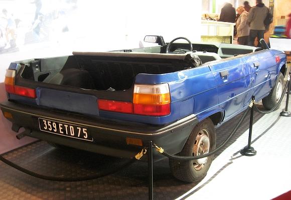 Renault 11 medio coche (Panorama para matar)
