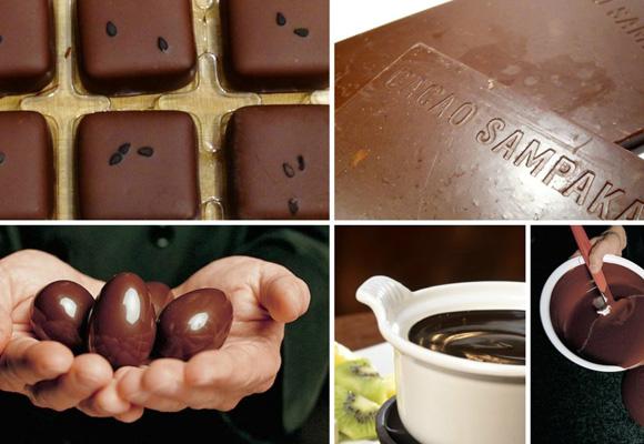Chocolates de Cacao Sampaka. ¡Exquisitos!