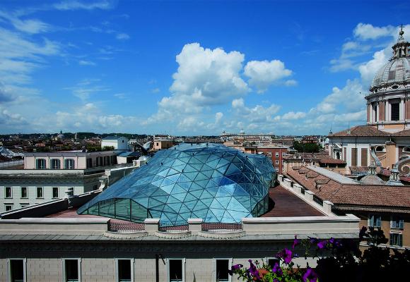 Edificio de H&M en Roma