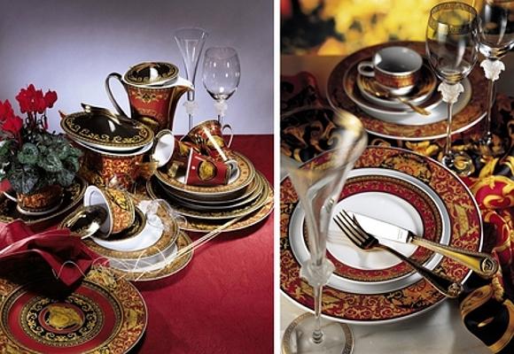 Lujo encima de la mesa the luxonomist for Vajillas para navidad