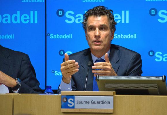 Jaume Guardiola, consejero delegado de Banco Sabadell. Foto: hispanidad.com