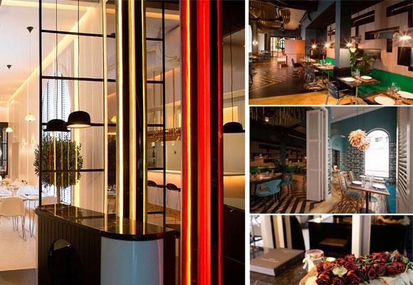 Restaurante Fox, distintos ambientes. Foto: restaurante Fox