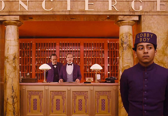 El Gran Hotel Budapest es una de las nominadas a Mejor Película