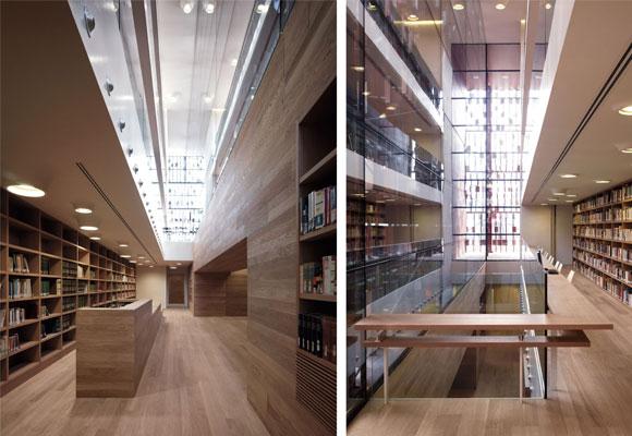 Biblioteca de Nembro, interior.