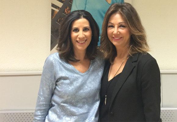 Ana Rosa Quintana con su amiga y directora de The Luxonomist, Pilar García de la Granja