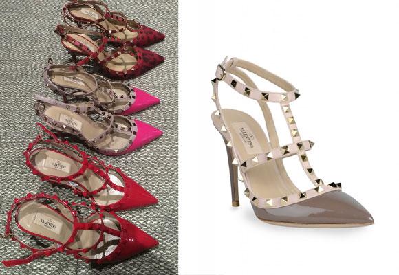 Le encantan los zapatos y en especial este modelo de Valentino