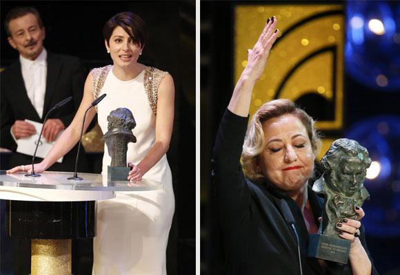 Bárbara Lennie por Magical Girl y Carmen Machi por '8 apellidos vascos'