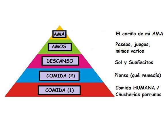Pirámide de Maslow. Canela edition