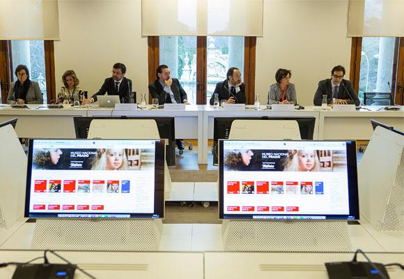 Momento de la presentación de la iniciativa. Foto: museodelprado