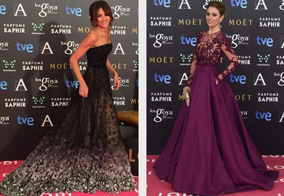 Goya Toledo y Blanca Suárez fueron de las más elegantes