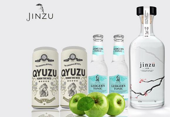 Jinzu combina a la perfección con una buena tónica y una rodaja de manzana