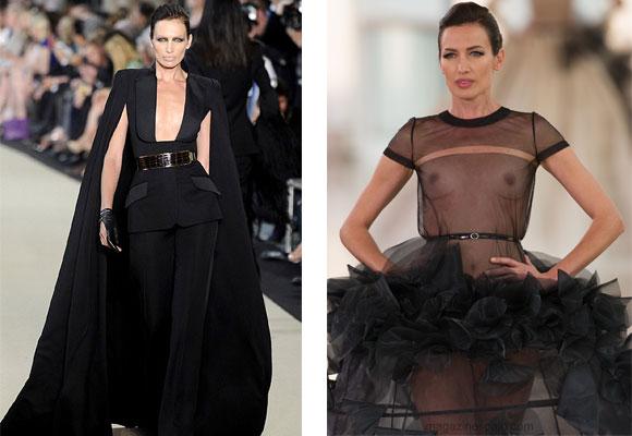 Nieves Álvarez para Stephane Rolland. Haute Couture París 2015