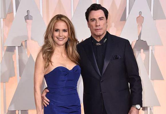 Para olvidar el look 'matrimonio de cera' de los Travolta