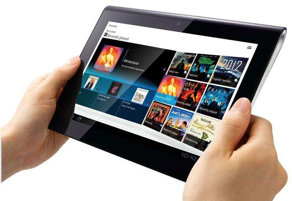 Tableta con aplicaciones