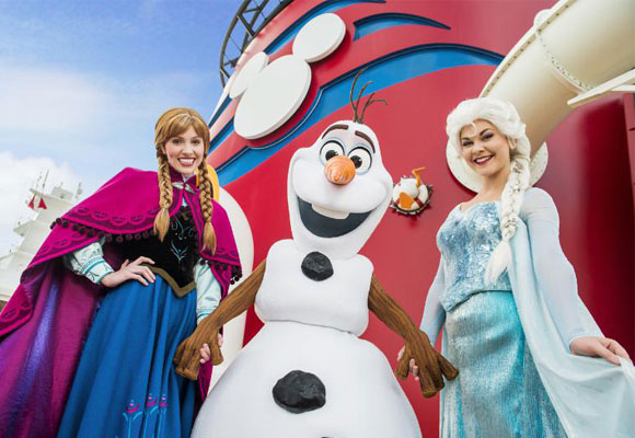 Disney Frozen on the Disney Cruise Line