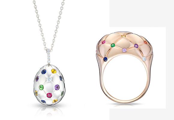 Joyería Fabergé. Haz clic para comprar las piezas