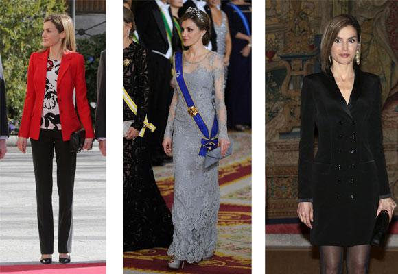 Doña Letizia utiliza bolsos pequeños en los actos oficiales