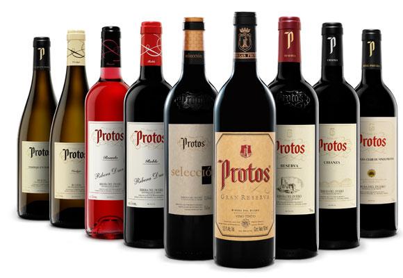 Bodega Protos, vinos. Haz clic para comprar
