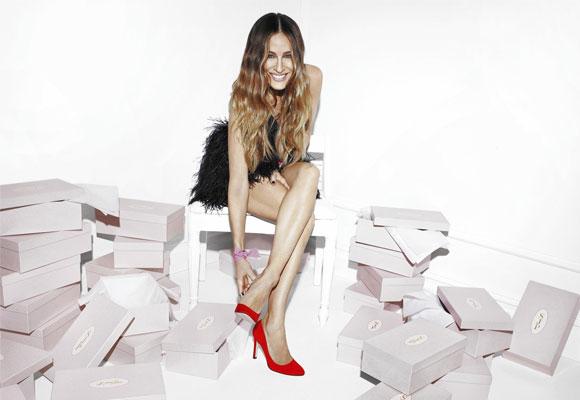 Sarah Jessica Parker y su línea de zapatos. Foto: Nodstrom