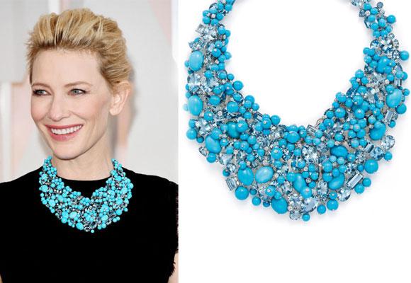 Cate Blanchett con collar de Tiffany&Co. Haz clic para comprar