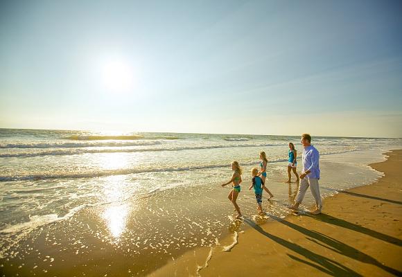 Playas en familia