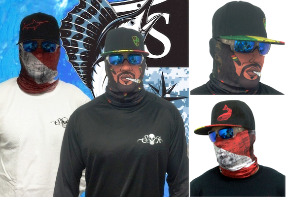Sa co raising the bar in outdoor apparel the luxonomist for Sa fishing face shield review
