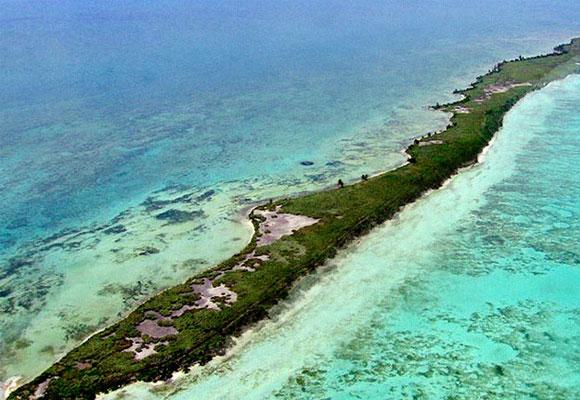 Isla de Leonardo DiCaprio en Belice