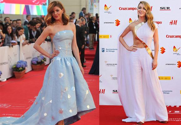 Manuela Velasco y Silvia Abascal en el Festival de Cine de Málaga
