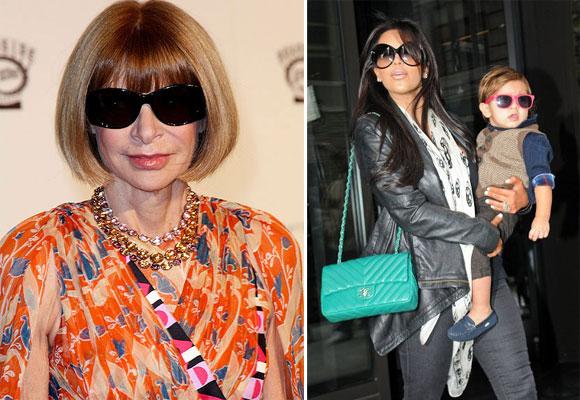 Anna Wintour o Kim Kardashian no suelen aparecer en público sin gafas de sol