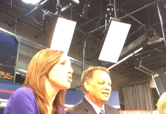Emisión en directo de un canal de noticias de Estados Unidos