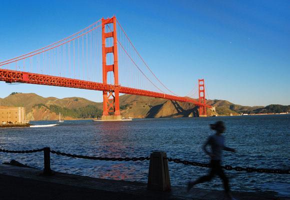 Running en San Francisco. Foto: intelligenttravel.nationalgeographic. Haz clic para reservar