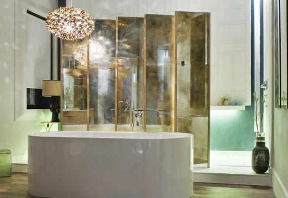 Baño diseñado por Silvia Trigueros