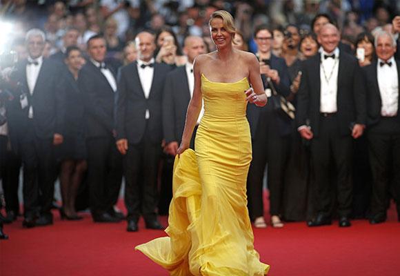 Charlize Theron en Cannes. Foto: CordonPress
