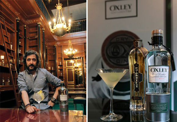 El chef Diego Guerrero es el encargado de elaborar el menú degustación inspirado en la ginebra Oxley