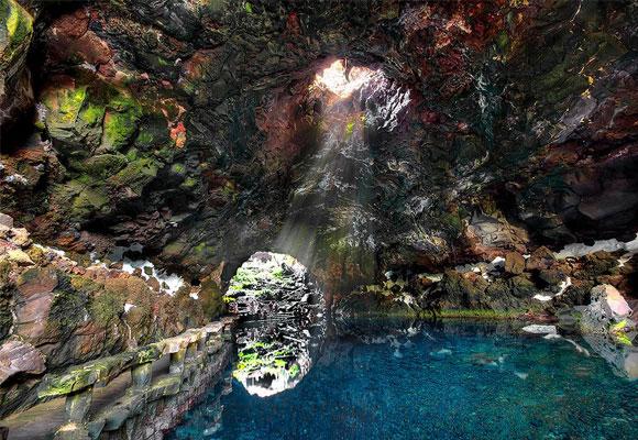 Jameos del Agua, Lanzarote. Foto: