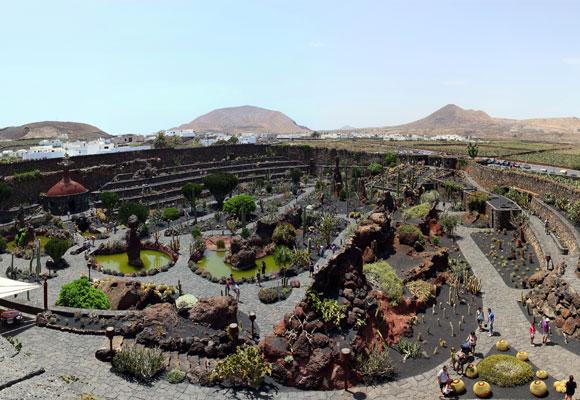 Jardín de Cactus, Lanzarote. Foto: wikipedia