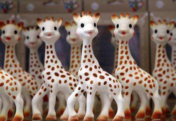 La jirafa Sophie