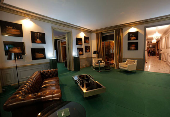 Una de las estancias del Oxley Gentlemen Club