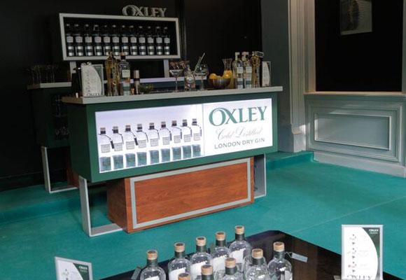 Barra de degustaciones, Oxley Gentlemen Club