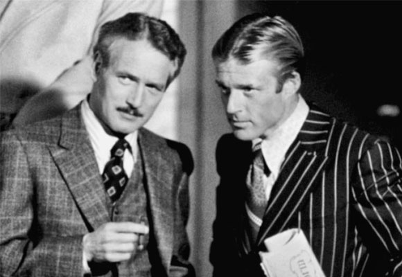 Paul Newman y Robert Redford en 'El Golpe'. Foto: Tumblr