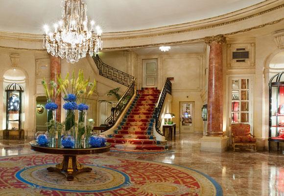 M s hoteles gran lujo en madrid the luxonomist for Hoteles gran lujo madrid
