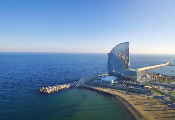 Hotel W de Barcelona diseñado por Ricardo Bofill