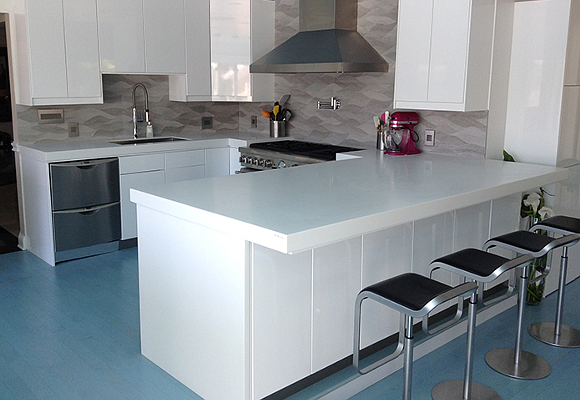 Porcelanosa First KRION Solid Surface Building In The U S