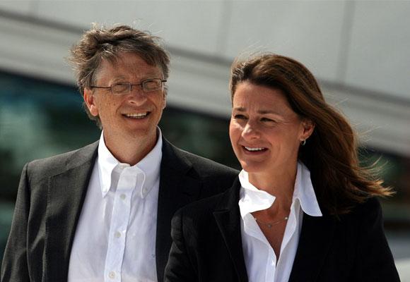 Bill y Melida Gates