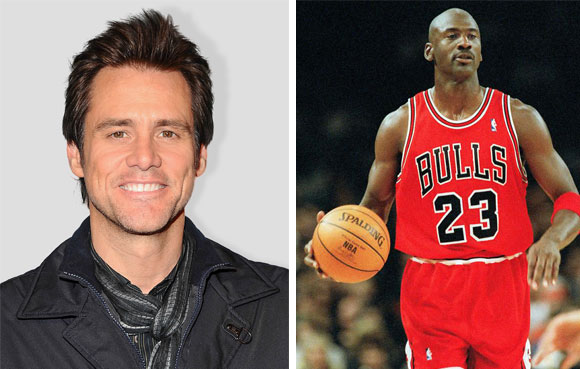 Jim Carrey y Michael Jordan también tienen