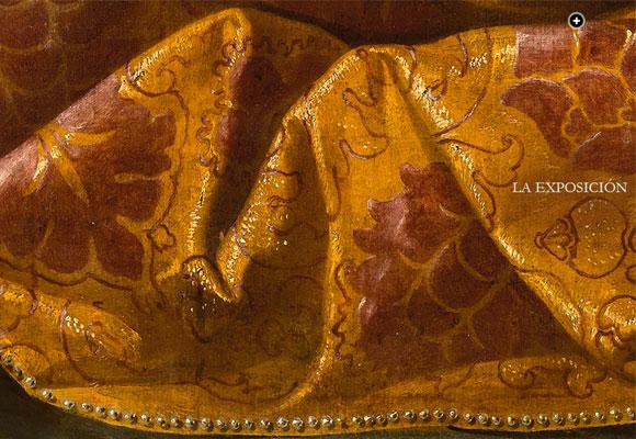 Detalle del cuadro ' de Zurbarán