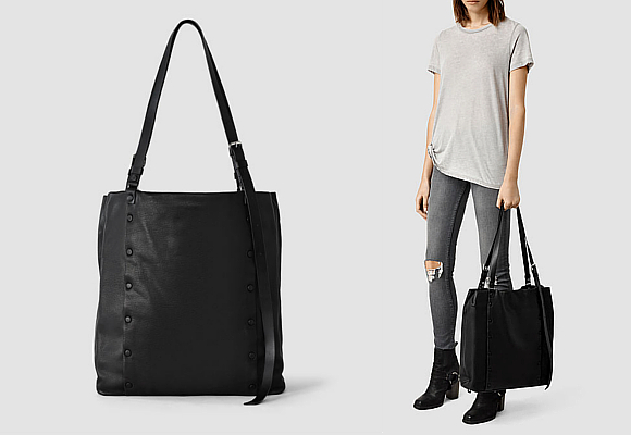 AllSaints Darling North South Tote