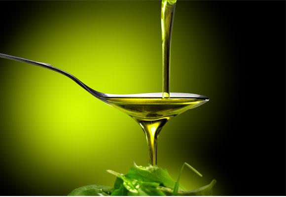 aceite de oliva cuchara