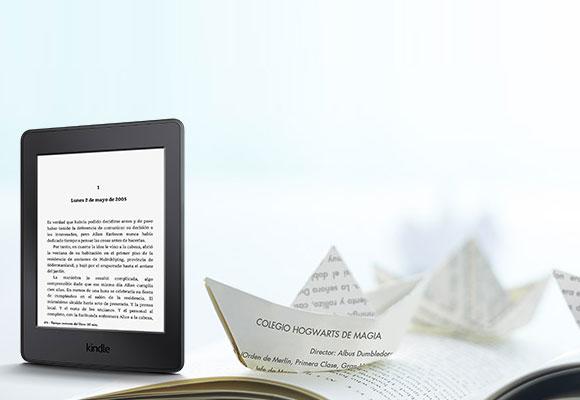 El Kindle de amazon ha sido un éxito de ventas. Foto: amazon